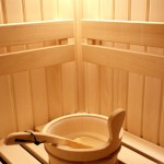 Sauna w obiekcie głównym