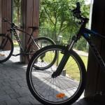 Rowery na wyposażeniu